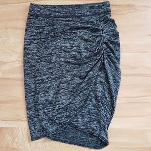Wilfred Free Tyra Skirt in Gray Space Dye Artizia